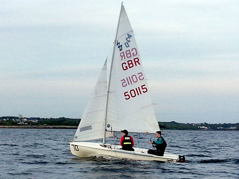 thursday sailing on galway bay galway city sailing club