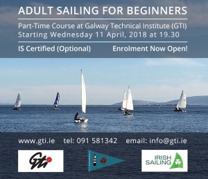 Sailing For Beginners - GIT & Galway City Sailing Club