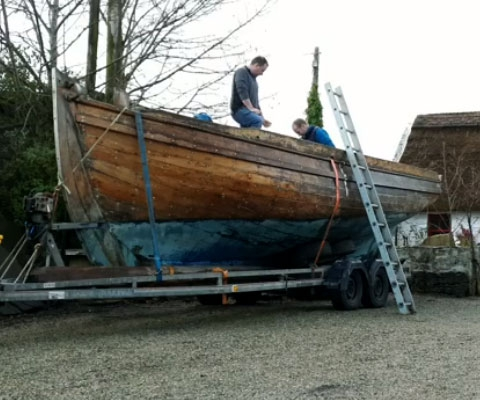 Galway Hooker Restoration Project