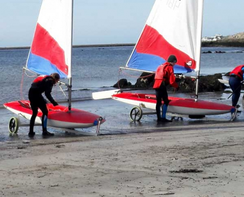 Junior Sailing Regatta at Galway City Sailing Club, September 7, 2019